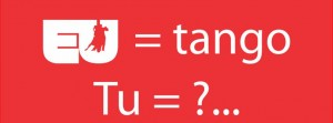 Eu tango_tu